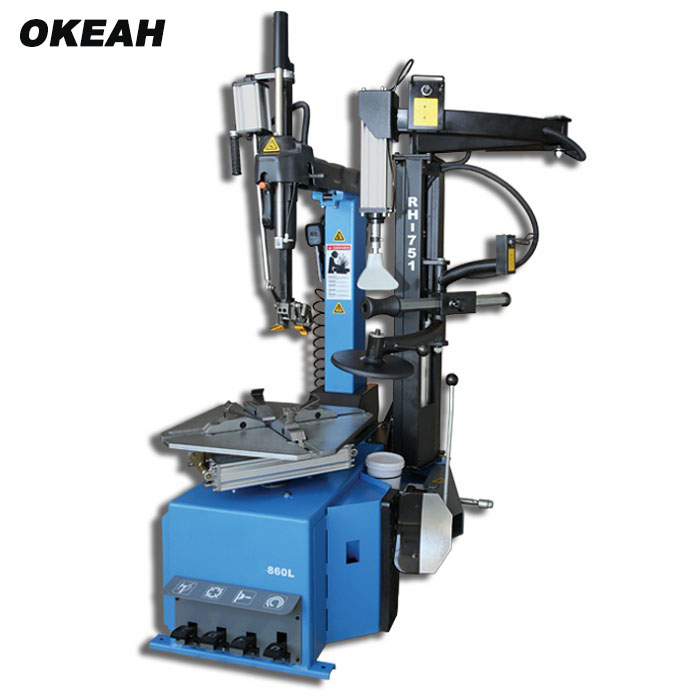 High Quality No Crow Bar Automatic Tire Changer With Assistant Arm Max Demounting Tyre Size 26 Inch