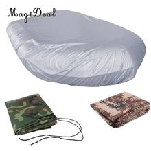 MagiDeal Heavy Duty Waterproof 2.3-4.7m / 7.5-15.4ft Inflatable Boat / Dinghy / Soft Cover Storage UV Perlindungan Matahari Perisai Kasus