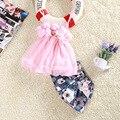2017 новые летние девушки 3D Цветок слинг + большой цветок моды шорты