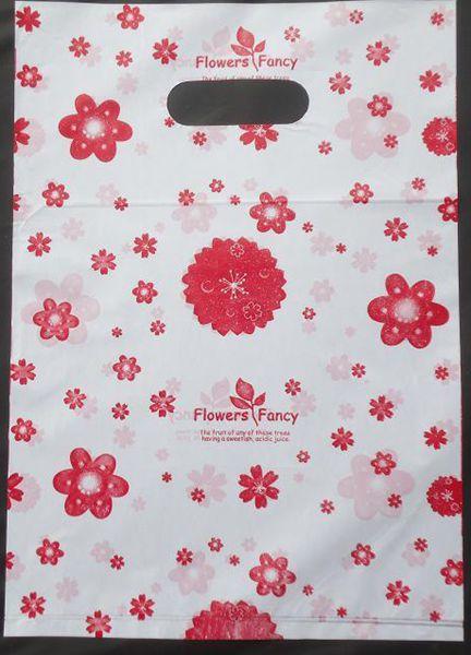 500pcs/lot Free shipping color flowers Plastic <font><b>bags</b></font> Wholesale Carrier <font><b>bags</b></font> Packing <font><b>shopping</b></font> <font><b>bags</b></font> 20*15cm 015020015