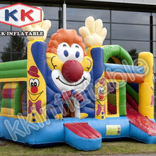 high quality PCV inflatable combo inflatable bouncer with slide inflatable toys hot sale