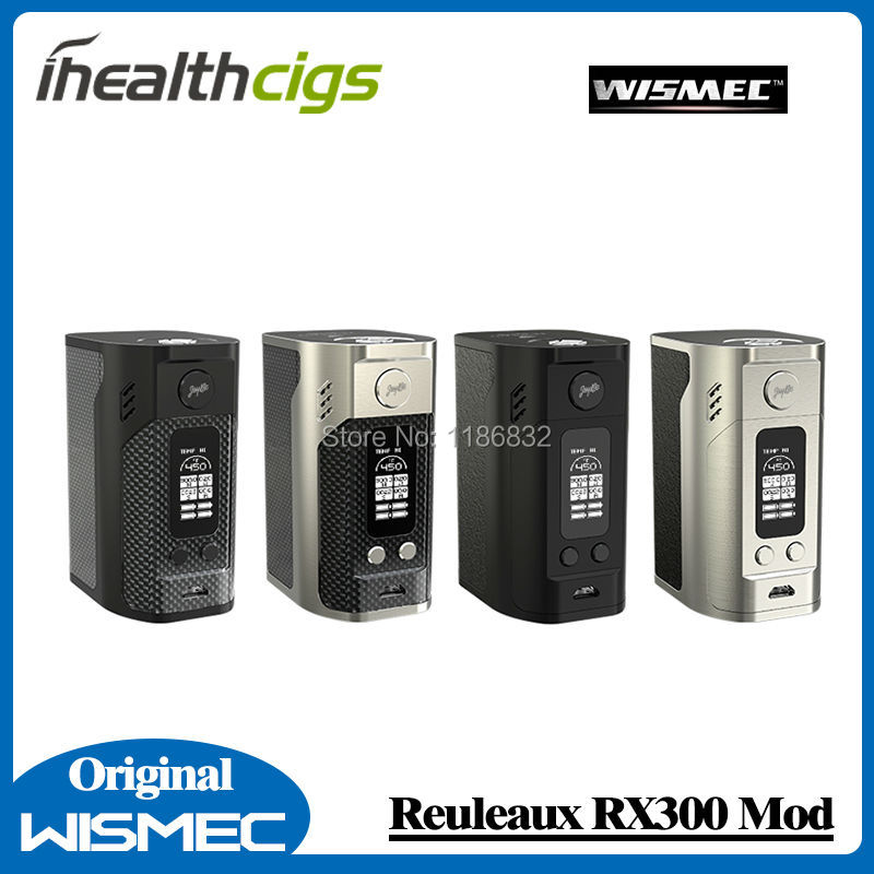 100% Original Wismec Reuleaux RX300 Box Mod Fit For REUX Tank original wismec elabo sw 2ml atomizer