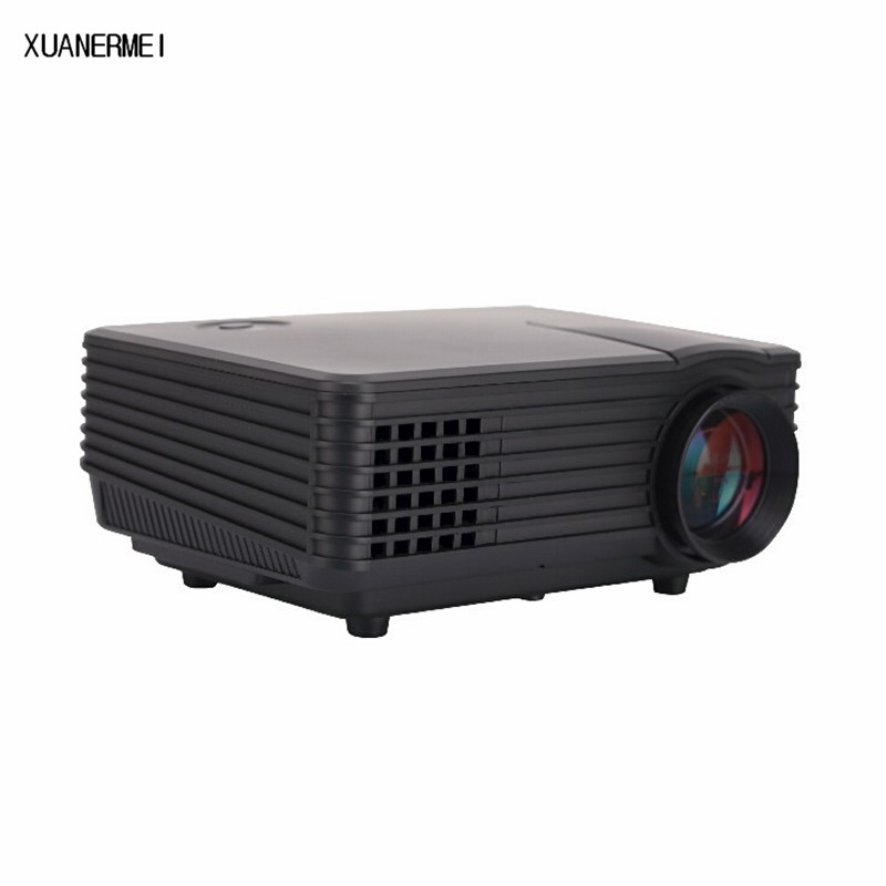 800 Lumens Home Theater Mini Portable Led Multimedia: XUANERMEI 800 Lumen Projector RD805 Mini LED Portable
