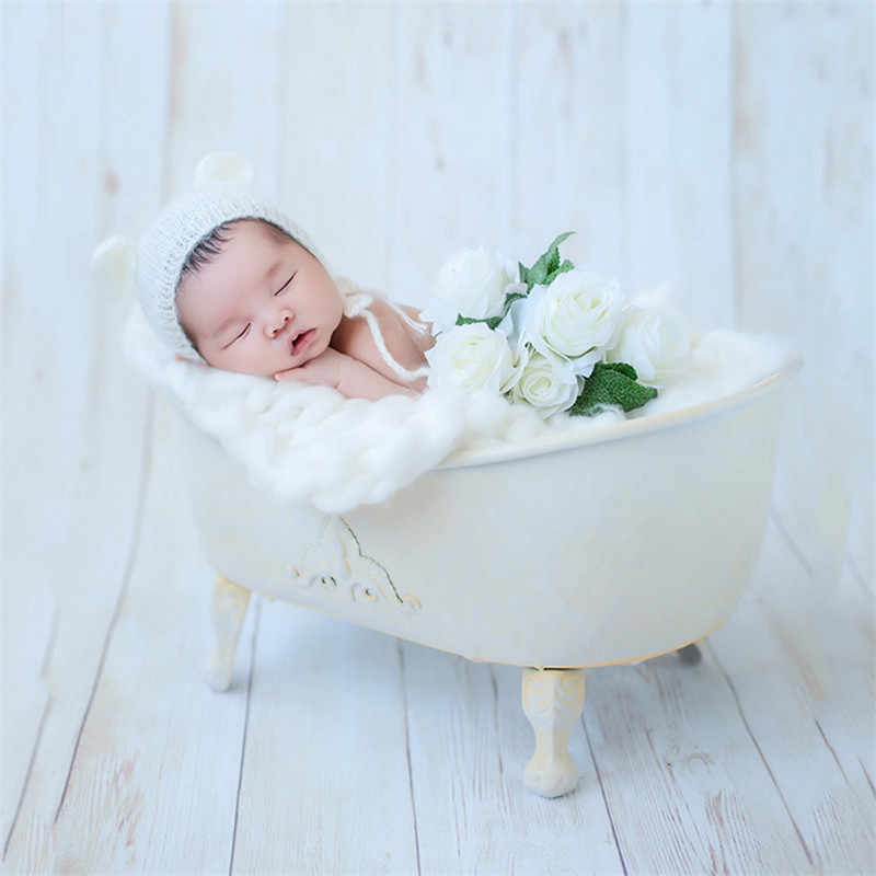 Tremendous Baby Boy Props For Photography Iron Bath Props With Bubble Bralicious Painted Fabric Chair Ideas Braliciousco