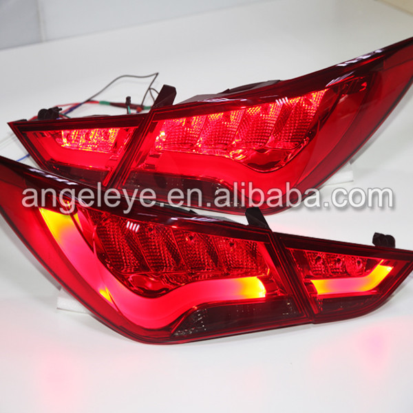 209-2014 Year FOR HYUNDAI SONATA Sonata YF Sonata I45 LED Taillights  Rearlights back light  for BMW Style Red Black color