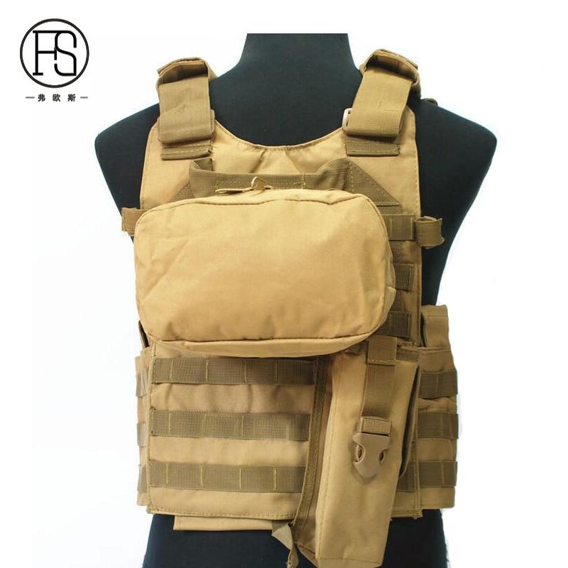 Gilet tactique de protection Multi-poches