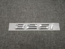 Хромированная Блестящая серебряная abs цифра буквы слово значок