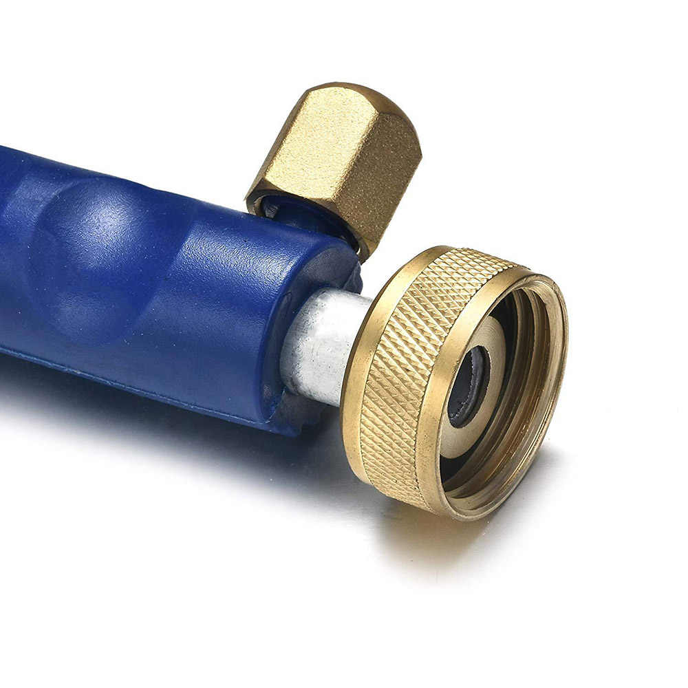 Lega di Auto Tubo di Tubo di Lavaggio Ad Alta Pressione Getto di Acqua di Alimentazione Rondella Ugello di Spruzzo Pistola con 2 Ugelli Pulitore di Irrigazione prato Giardino