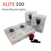 Luz trasera inteligente Xlite100 para bicicleta  luz trasera Led recargable por USB  luz trasera para bicicleta  luz trasera de arranque y parada para coche  detección de freno IPx6 a prueba de agua