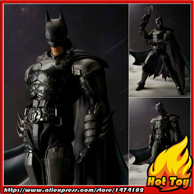 цена 100% Original BANDAI Tamashii Nations S.H.Figuarts (SHF) Action Figure - Batman (INJUSTICE ver.) from