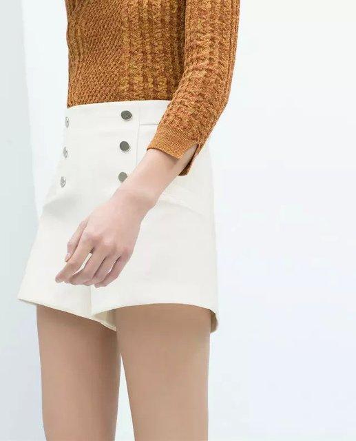 white high waisted shorts womens