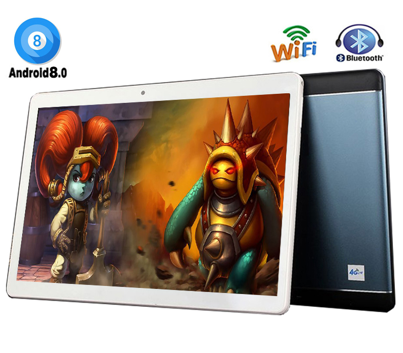 Fast For Games And Videos 10 inch Android 8 0 Tablets PC 4GB RAM 64GB ROM
