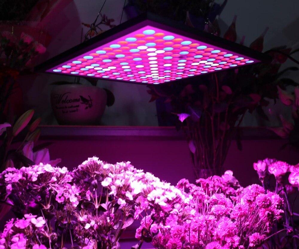 Spider Cob 225 LEDs Full Spectrum 45 Watt LED Grow Light Kits for Indoor Houseplants Seed Veg Bloom LED Light Panel