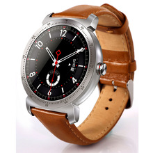 MATEYOU metal shell 1.3-inch full circle color screen 3d radian display smartwatch magnet charging