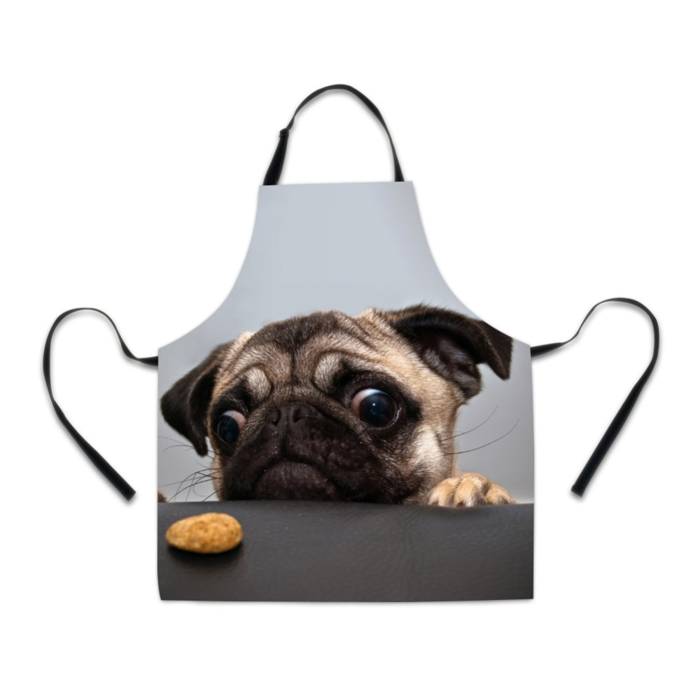100% True High Quality 3d Printing Dogs Pattern Home Leisure Fashion Kitchen Supplies Aprons Luggage & Bags