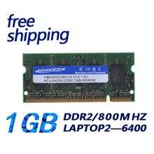 KEMBONA laptop ddr2 1gb pc2 6400 ddr2 800MHz 200pin sodimm Laptop memory RAM 200-pin SO-DIMM Non-ECC