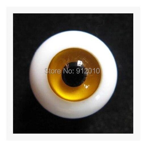 BJD Doll  A Glass Eyes 16mm.18mm  amber Eyes SD MSD YOSD 1Pair GA18 uncle 1 3 1 4 1 6 doll accessories for bjd sd bjd eyelashes for doll 1 pair tx 03