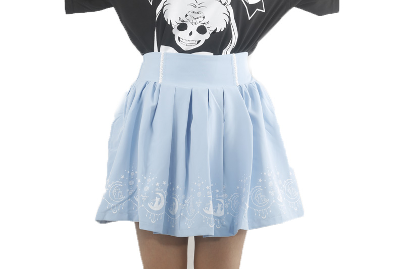 55d2e6d13 € 12.55 |2018 verano lindo Niñas Faldas anime Sailor Moon 20th aniversario  falda gato Lolita kawaii dulce Faldas mujeres ropa de estilo preppy en ...