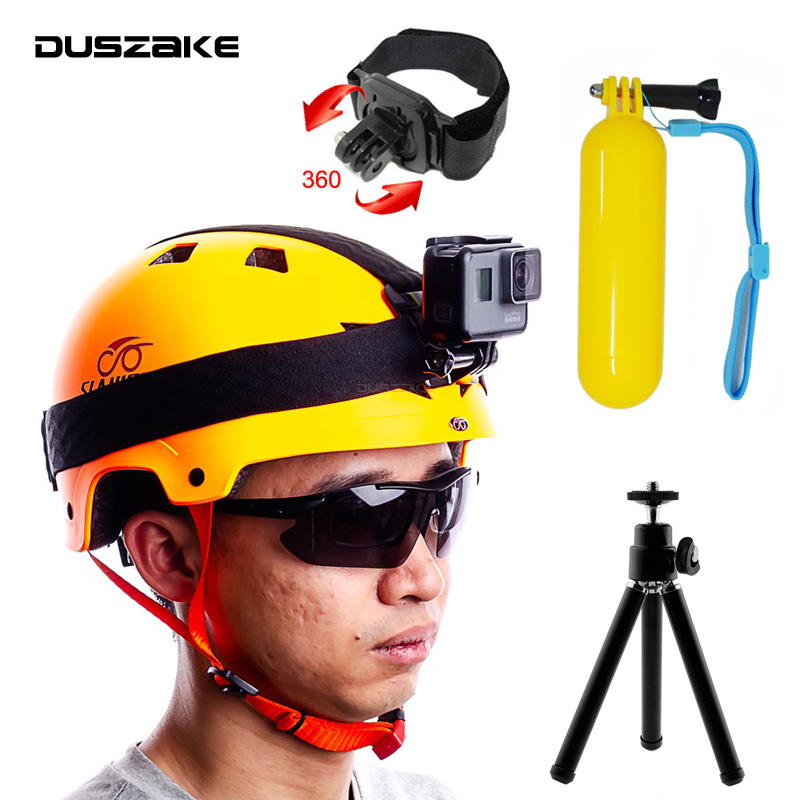 DUSZAKE DG36 Head Harness For Gopro Accessories Mount For Go Pro Hero 6 Strap For Gopro Accessories Belt For Go Pro Xiaomi Yi 4K