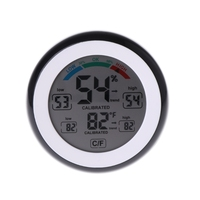 Digital Indoor Thermometer Hygrometer Touchscreen Temperature Gauge Humidity Monitor
