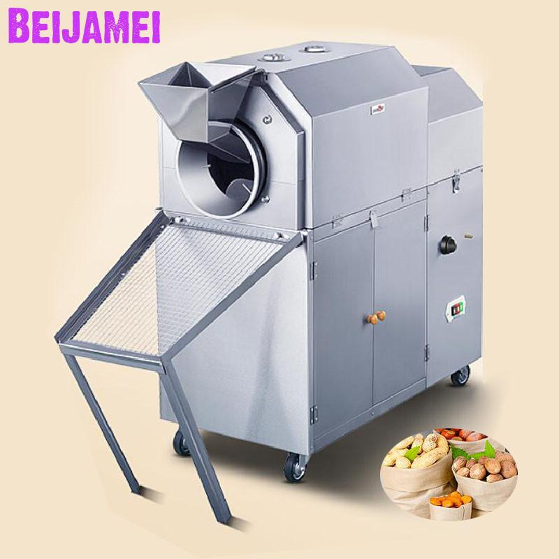 Beijamei New Arrival Commercial Chestnut Roasting Machine Industrial Gas Peanut Nut Roaster Factory PriceBeijamei New Arrival Commercial Chestnut Roasting Machine Industrial Gas Peanut Nut Roaster Factory Price