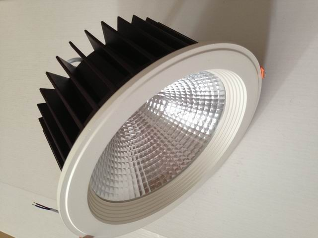 AC110V/220 В симистор diammable epistar удара Подпушка свет 35 Вт 8 встраиваемые потолок Подпушка лампа 3200lm белый Цвет с hole210mm