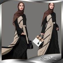 Dubaiabaya Muslim Baru Modis Cardigan Jubah Renda Jahitan Gaun Islam Saudi  Wanita Ukuran Besar Muslim Abaya 61b4018c5ed0
