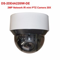 DS 2DE4A220IW DE 2MP Network IR Mini PTZ Camera 20x Optical Zoom WDR POE Hik Cloud