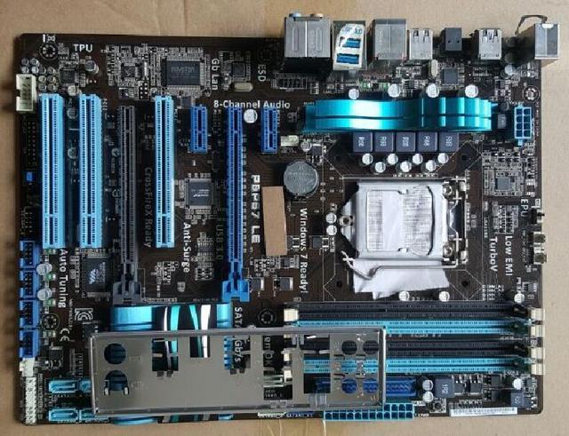 Бесплатная доставка в исходном материнская плата для ASUS P8P67 LE DDR3 LGA 1155 RAM 32 Г USB3.0 SATA3.0 материнские платы материнская плата