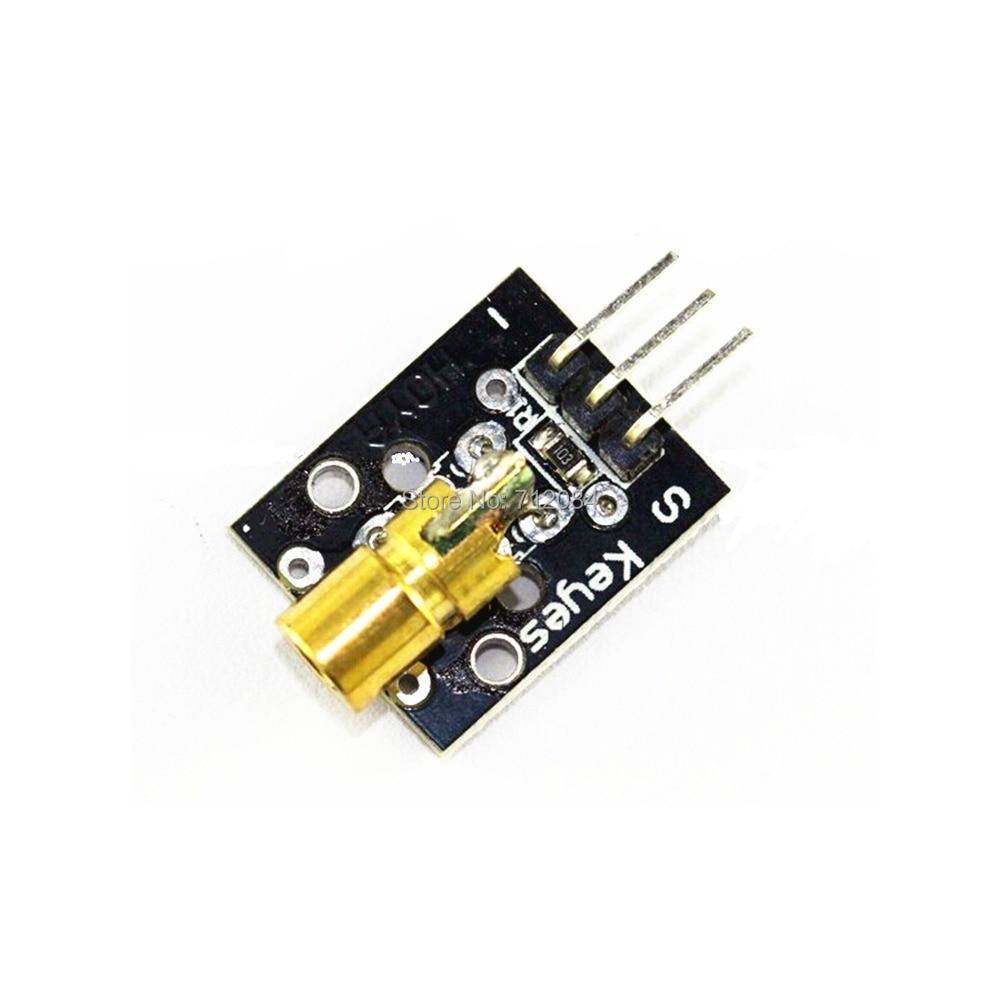 650nm Laser font b sensor b font Module 6mm 5V 5mW Red Laser Dot Diode Copper
