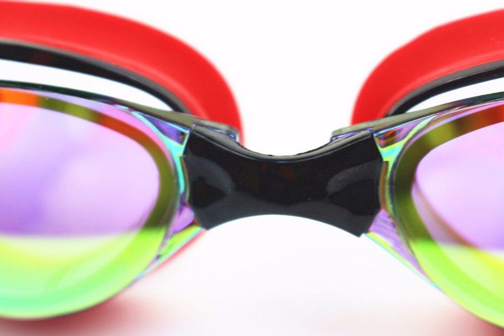 Men Women Myopia Electroplate Waterproof Swim Diopter Eyewear And Anti Fog UV Protection Goggles 11