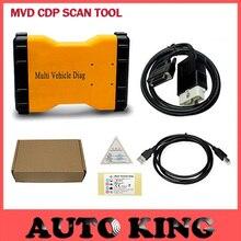 ¡ Nuevo!!! con Software de 2015 R3! Multi Diag multidiag Vehículo MVD TCS CDP PRO plus Escáner Automático Sin la versión de Bluetooth en stock