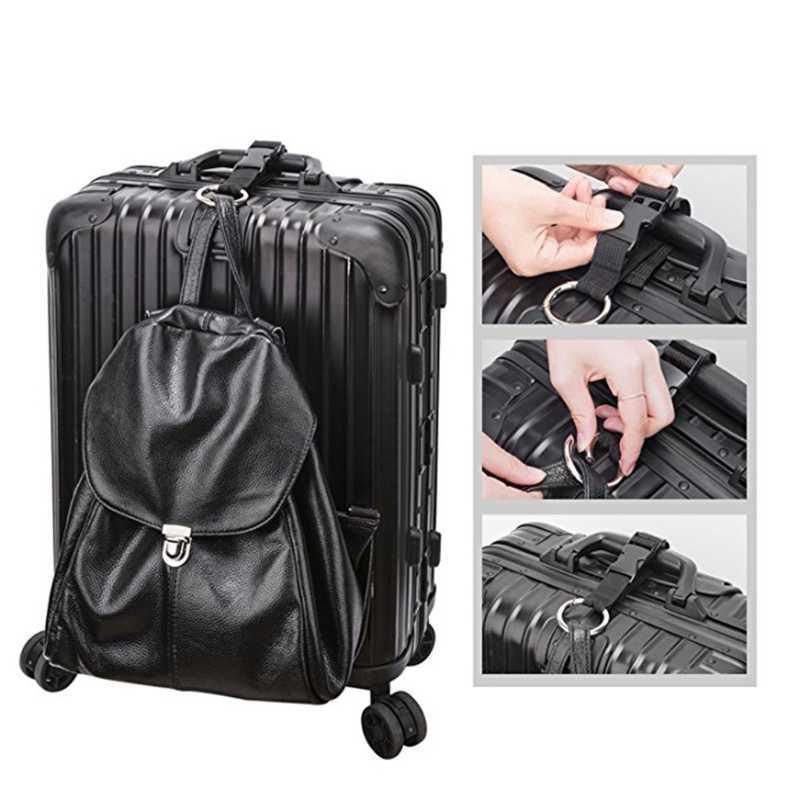 Dodaj torbę pasek bagażowy kurtka chwytak pasy bagaż walizka nylonowe pasy podróż