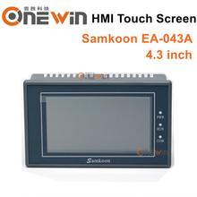 EA 043A samkoon HMI touch screen nuovo schermo da 4.3 pollici 480*272 Interfaccia Uomo macchina