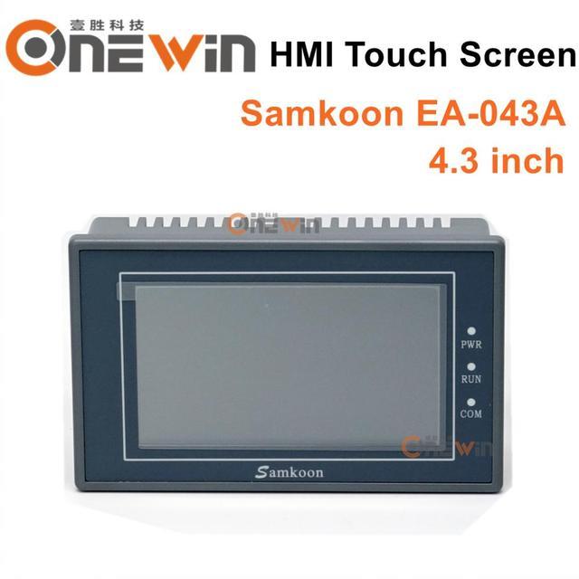 Samkoon EA 043A HMI dokunmatik ekran yeni 4.3 inç 480*272 insan makine arabirimi