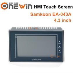 Samkoon EA 043A ekran dotykowy HMI nowy 4.3 cala 480*272 interfejs człowiek maszyna w Sterownik CNC od Narzędzia na