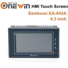 Samkoon EA-043A hmi tela de toque novo 4.3 polegada 480*272 interface da máquina humana