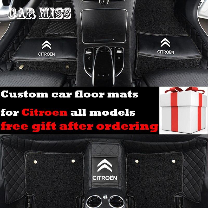 Personnalisé Double couche logo tapis de sol de voiture pour mazda CX-5 CX-9 3 2 5 6 8 atenza CX-7 CX-3 MX-5 CX-4 Tous Les Modèles tapis de voiture