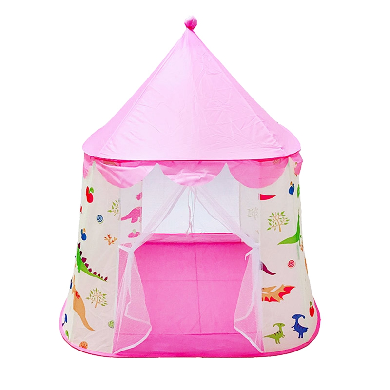Portable Children'S Tent Toy Ball Pool Princess Girl'S Castle Play House Folding Baby Beach Tent