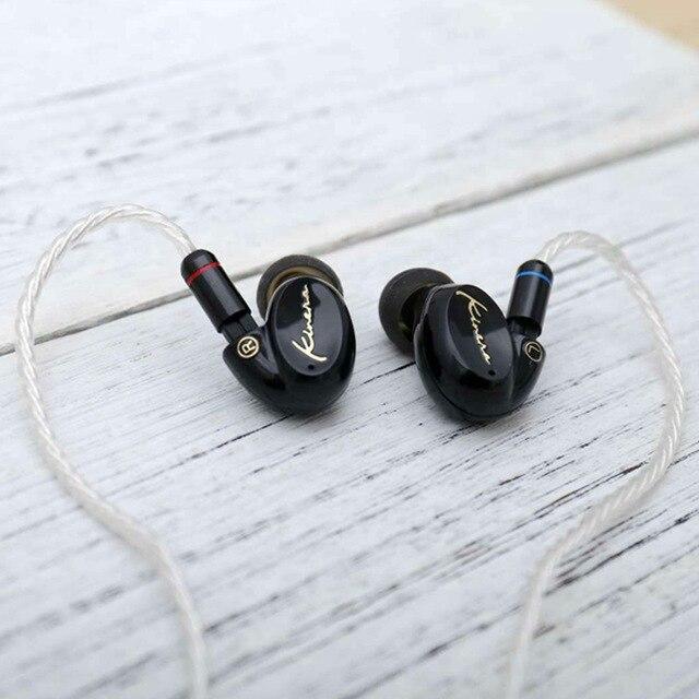 OKCSC 1BA + 1DD dynamique hybride HIFi dans l'oreille écouteurs bricolage moniteur casque 3.5mm prise 0.78mm 2Pin câble pour xiaomi Samsung Huawei - 4