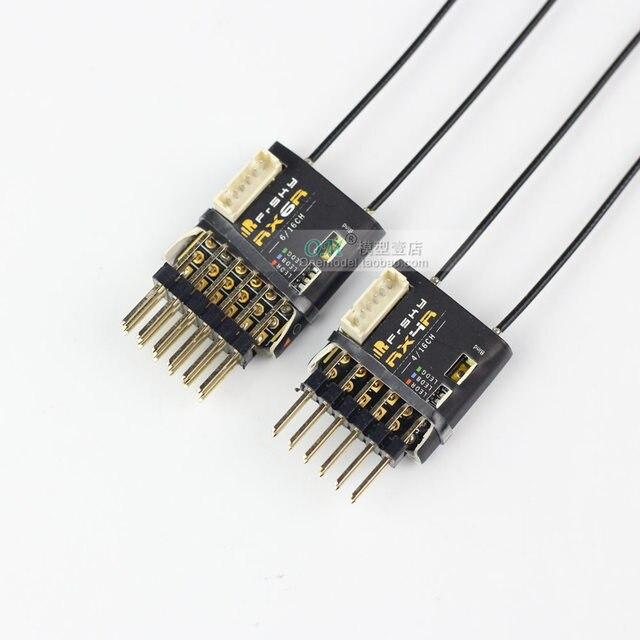 FrSky récepteur de télémétrie RX4R/RX6R 6/16, Original, conçu pour les planeurs, ultra petit et super léger, sortie 6 pwm