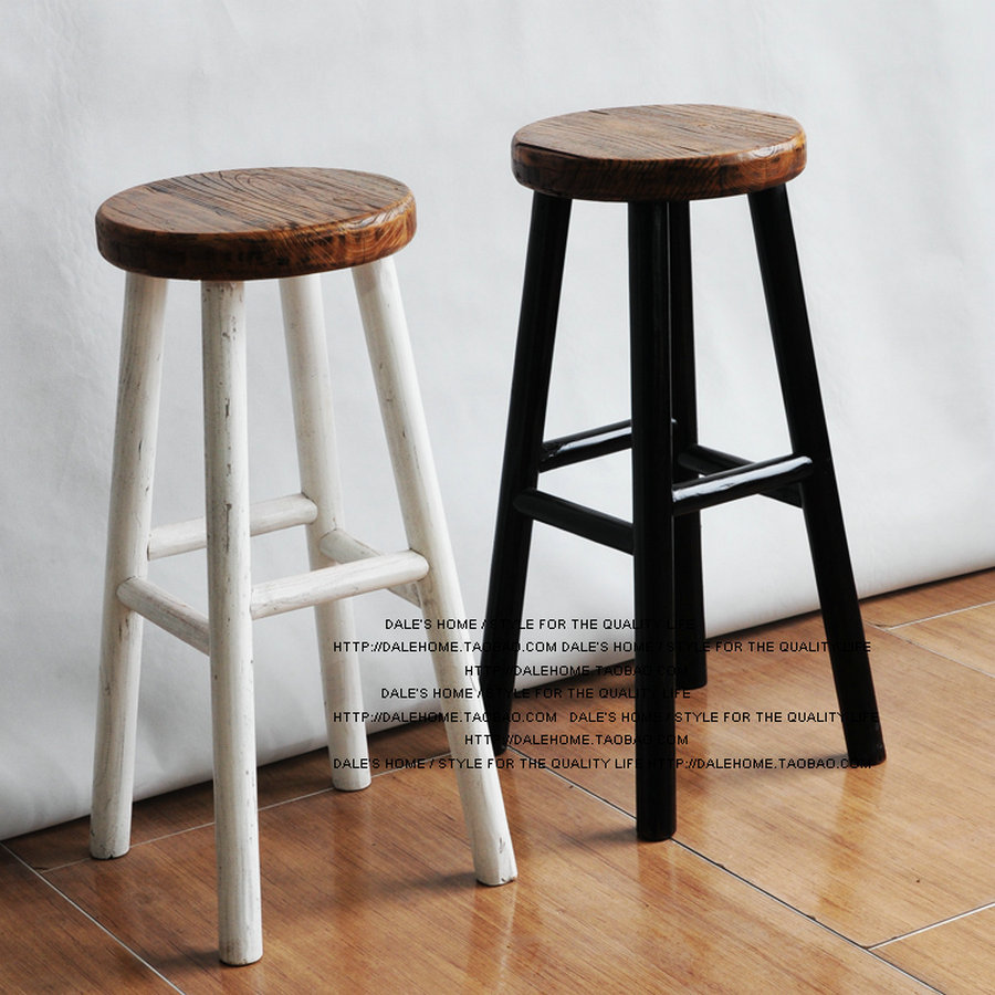 Wood Bar Chair Stool