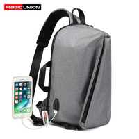 MAGIC UNION Brand Design Men S Travel Bag Man Backpack Polyester Bags Waterproof Computer Packsack Anti