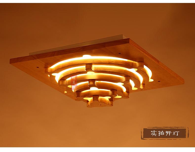 Lamparas de madera para techo amazing desde su ideal las - Como hacer lamparas de techo modernas ...