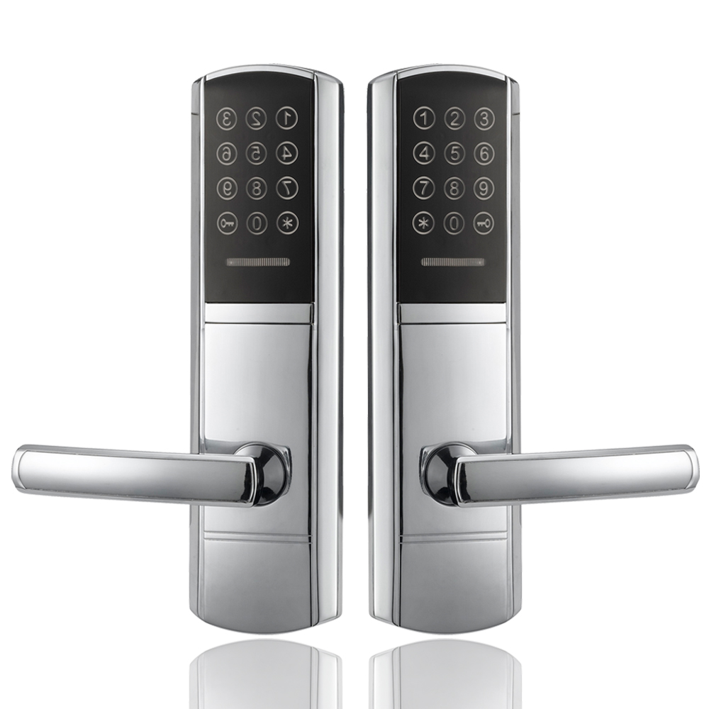 Digital Keyless Password Combination Door Lock Electronic Door Lock With Mechanical Keys t handle vending machine pop up tubular cylinder lock w 3 keys vendo vending machine lock serving coffee drink and so on