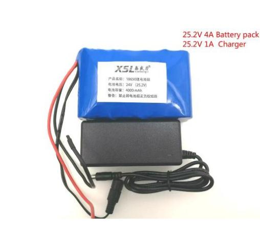 New 24V 4Ah 6S2P 18650 Battery li-ion battery 25.2v 4000mah electric bicycle moped /electric/lithium ion battery pack+2A Charger 30a 3s polymer lithium battery cell charger protection board pcb 18650 li ion lithium battery charging module 12 8 16v