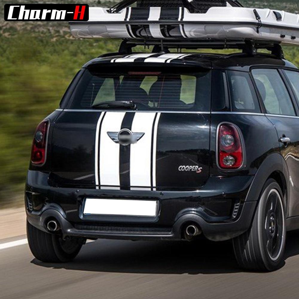 Decal Sticker Stripe Kit Mini Countryman Cooper S Racing Hood Side - Ավտոմեքենայի արտաքին պարագաներ - Լուսանկար 4