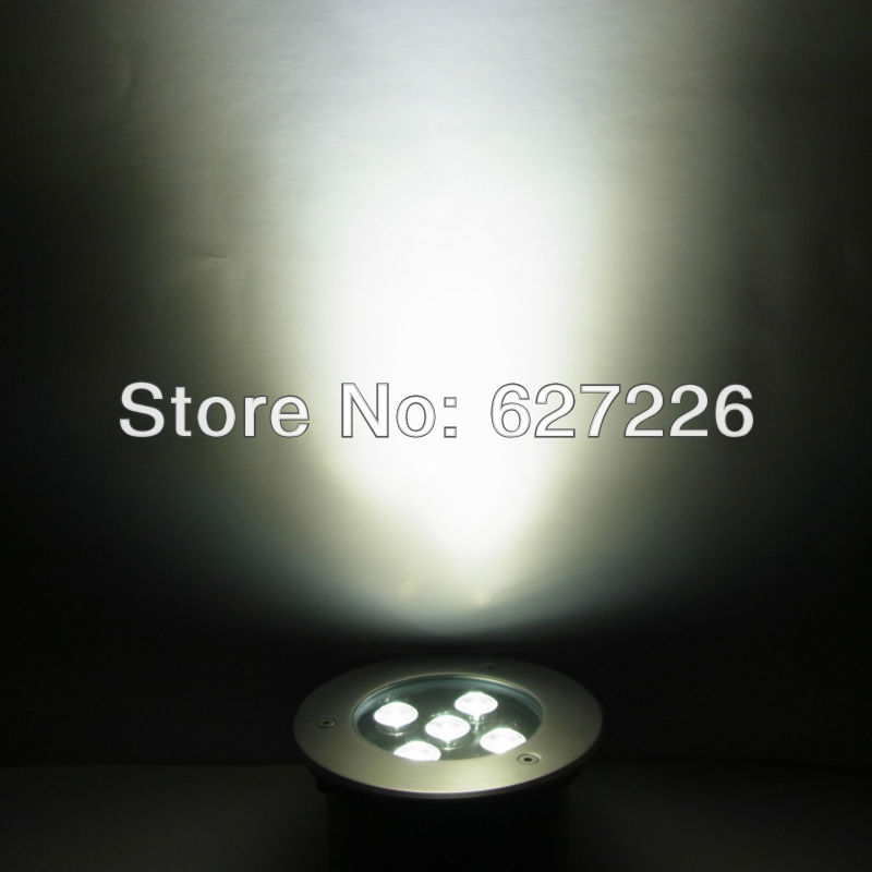 Hot!Free Shipping!5W LED underground lamp,DC12V IP68 waterproof,2 years warranty,CE&ROHS,led underground light,outdoor lights free shipping ac85 265v high power 12w led underground lights led buried lamp waterproof 2 years warranty