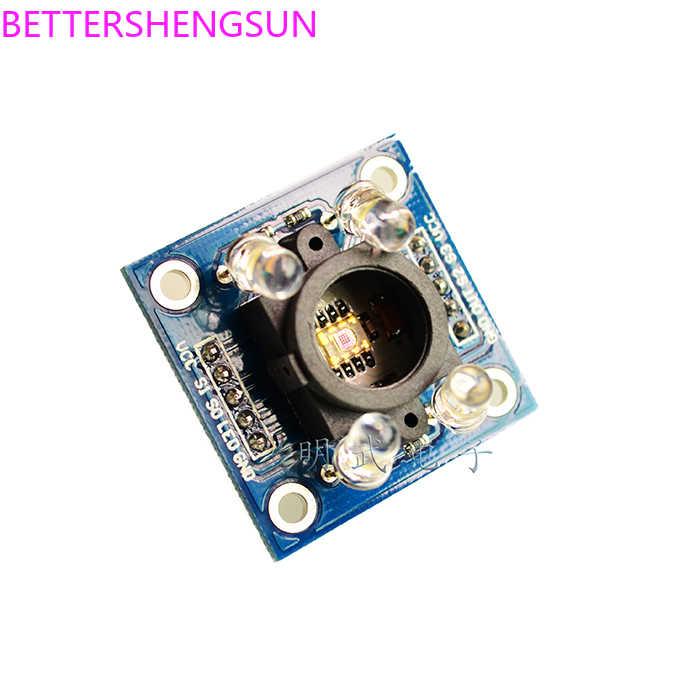 GY-31 TCS230 TCS3200 Colore modulo di riconoscimento di colore del sensore di colore modulo di rilevamento GY-31TCS230