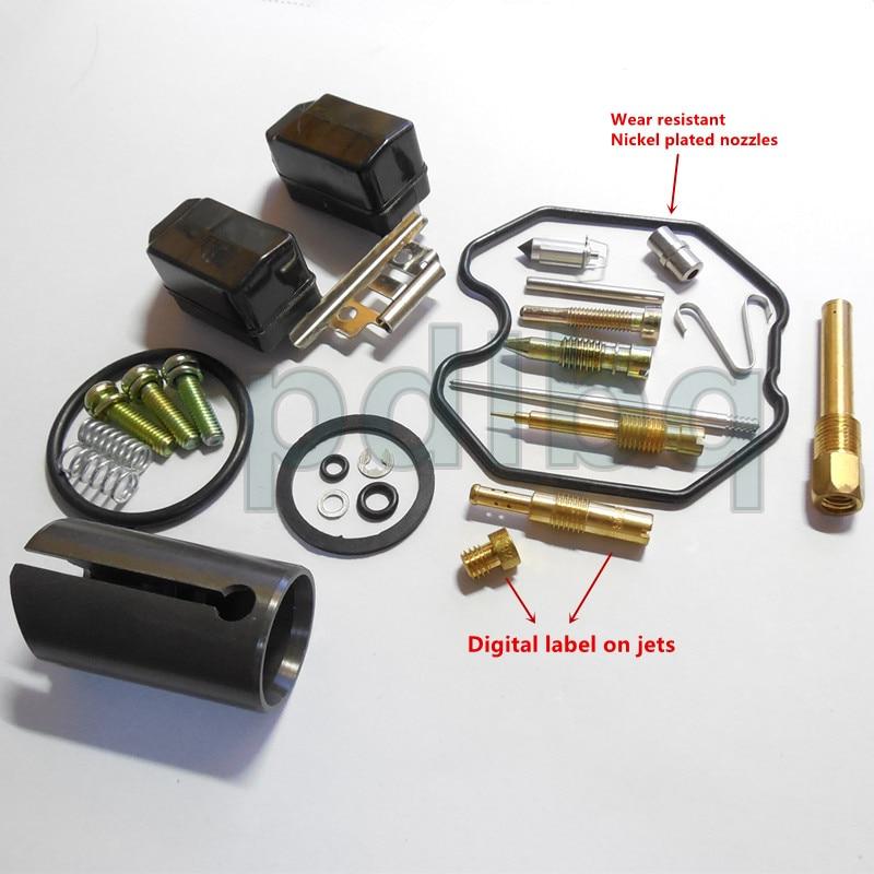 (meest complete configuratie) 20/22 / 24mm plunjer Keihin PZ26 / - Motoraccessoires en onderdelen